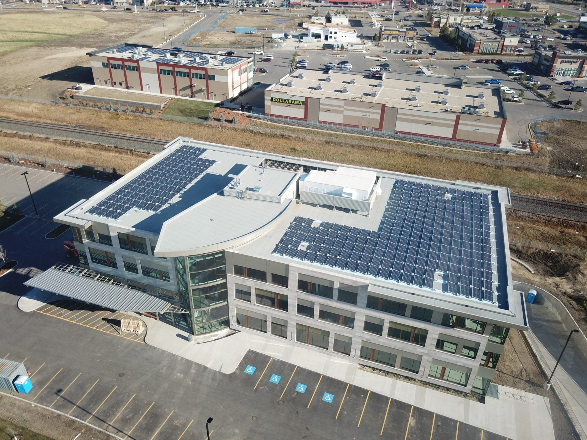 Kuby Energy Solar Panels Edmonton Business Campus3